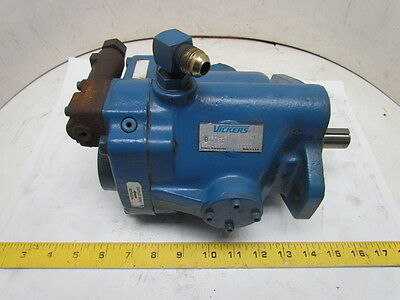 Vickers PVQ20 Inline Variable Displacement Hydralic Pump 1800 RPM 10Gpm 3000 PSI