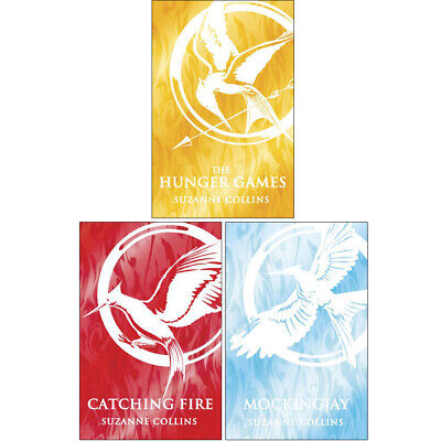 Suzanne Collins Collection,Hunger Games Trilogy 3 Books Set(Catching Fire ,Mocki