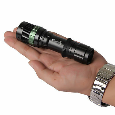 1000LM CREE Q5 LED Camping Power Flashlight Torch Focus ZOOMABLE Waterproof  X