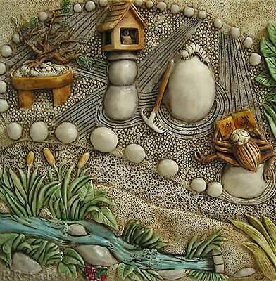 New Harmony Kingdom Picturesque Tile Byron's Secret Gardens Zen Garden Premiere