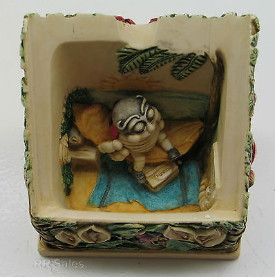 Harmony Kingdom Byron's Secret Garden Hideaway Box Ann Richmond PXGBOX Retired