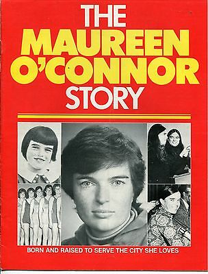"1971 San Diego Campaign Items: ""THE MAUREEN O'CONNOR STORY"" +"