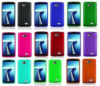 Hard Faceplate Case Cover Accessory For LG Optimus F60 MS395 D390 D392 D390N
