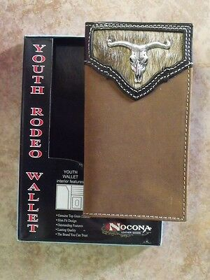 Nocona Longhorn Youth Rodeo Wallet