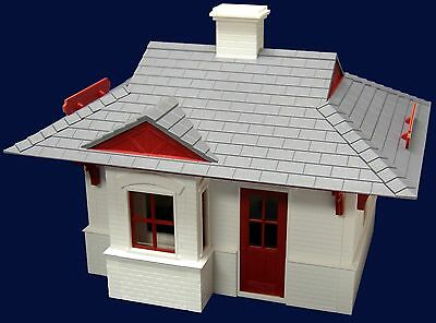 PIKO GREEN RIVER STATION  G Scale Preassembled Building Built Up 62700 New