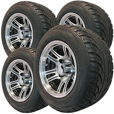 """10"""" low pro Golf Cart TIRE RIM WHEEL ASSEMBLY for Club Car Yamaha EzGo many more"""