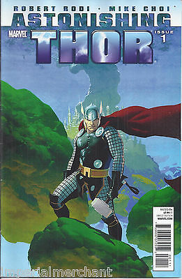 Astonishing Thor comic issue 1