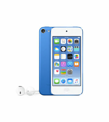 "APPLE iPOD TOUCH 16GB 6th GEN (2015 MODEL) BRAND NEW BLUE ""AUSLUCK"""