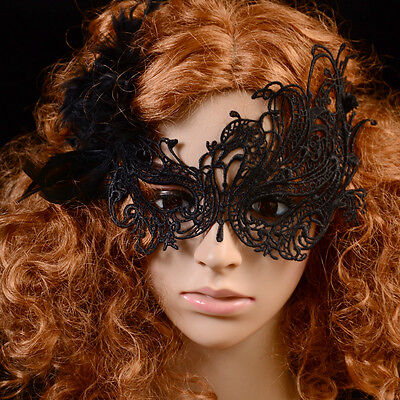 Charm Design Retro Handmade Hollow Out Lace Butterfly Costume Party Mask Hot New
