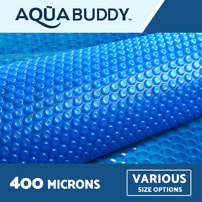 Aquabuddy Solar Swimming Pool Cover 400 Micron Outdoor Bubble Blanket 3 YR WRTY