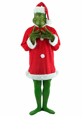 Dr. Seuss - The Grinch Adult Deluxe Costume