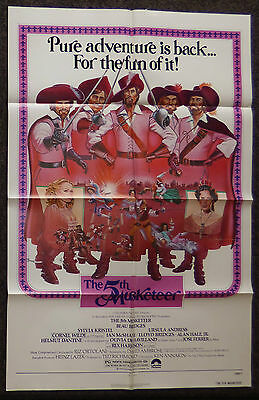 The 5Th Musketeer 1979 Original 1 Sheet Movie Poster Fifth Beau Bridges