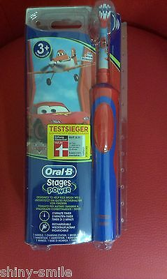 Oral B Stages Power CARS MICKEY MOUSE Spazzole Per Bambini Marrone