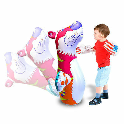 Inflatable TIGER 3D Boxing Punch Bop Bag Kids Outdoor Indoor Game Toy 44669