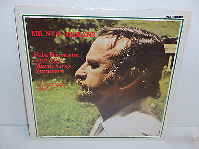 PETE FOUNTAIN & HIS MARDI GRAS STRUTTERS Mr New Orleans FACTORY SEALED MCA 165