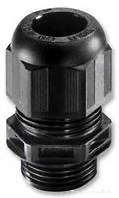 CABLE GLAND, PA, 3MM - 7MM, BLACK, PK10 Part # WISKA 10066120