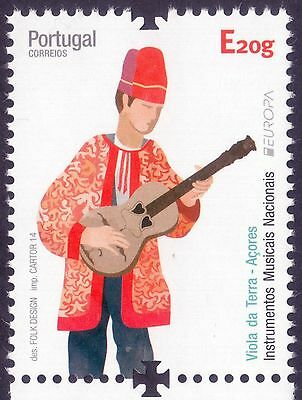 2014 Europa - Azores - isolated stamp