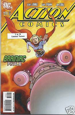 Superman Action Comics issue 870 limited variant