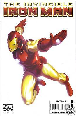 Invincible Ironman comic issue 20 variant