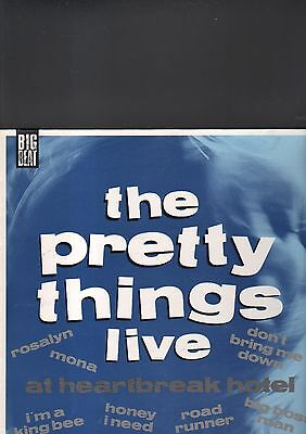THE PRETTY THINGS - live LP