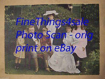 WHITE HOUSE PHOTO PICTURE President Theodore TEDDY Roosevelt FAMILY PORTRAIT '03