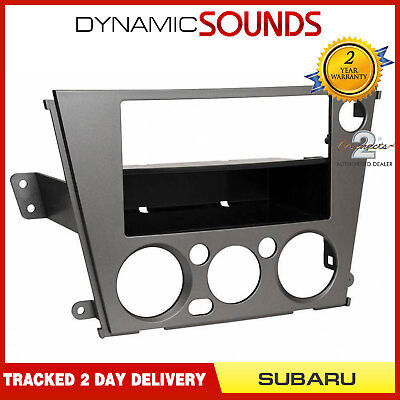 CT24SU05 Car Stereo Double/Single Din Fascia Panel LHD For Subaru Legacy Outback