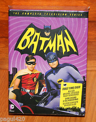 Batman: The Complete Television Series (DVD, 2014, 18-Disc Set) New & Sealed