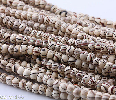 100 pcs 6MM Wood Spacer Loose beads Bracelets charms Handmake Findings