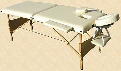 Portable Massage Table Reiki Beauty Couch Cream!