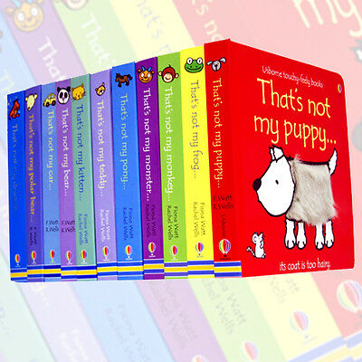 Fiona Watts Usborne Touchy-Feely 11 Books Collection Paperback English