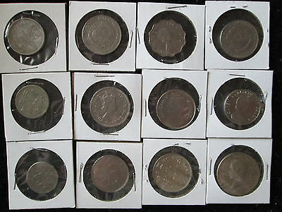 Lot of 12 Large FOREIGN COINS AND TOKENS*mixed collection (lot b)