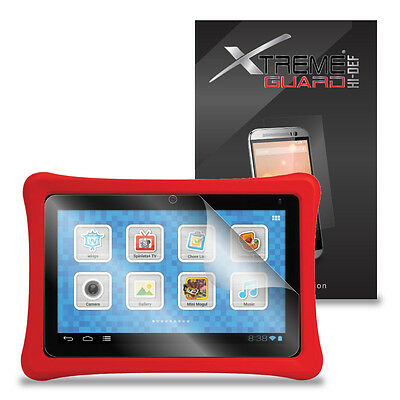 """3-Pack HD XtremeGuard HI-DEF Screen Protector Cover For FUHU Nabi 2S 7"""" Tablet"""