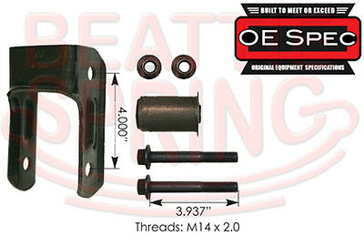 Rear Leaf Spring Shackle Kit for Blazer Jimmy Bravada Envoy  OE Spec