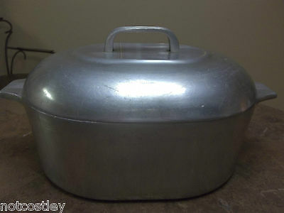 Wagner Ware Magnalite Sidney 4265-P Roaster Dutch Oven with lid!!