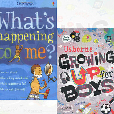What's Happening to Me? Growing Up for Boys Collection 2 Books Set,Growing Up fo