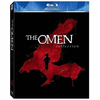 THE OMEN COLLECTION NEW 4 DISC BLU-RAY BOXED SET 4 OMEN FEATURES