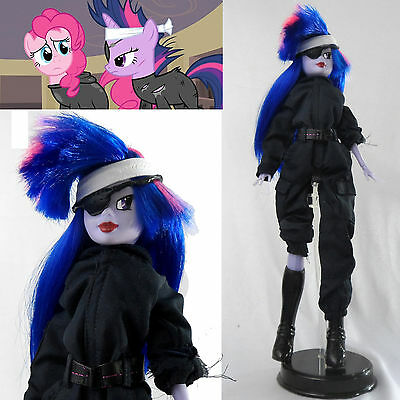 "OOAK My Little Pony 11"" CUSTOM FUTURE TWILIGHT Sparkle Doll Metal Gear MLP:FIM"