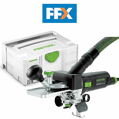 Festool 574362 OFK 700 EQ-Plus GB 240v Laminate Trimmer in Systainer SYS 2 T-Loc