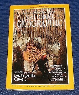 National Geographic Magazine March 1991 - Eastern Europe/Montreal/Octopus