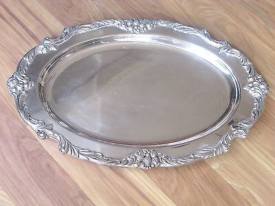 Reed & Barton KING FRANCIS 1676 Silverplate Oval Meat Dish / Platter