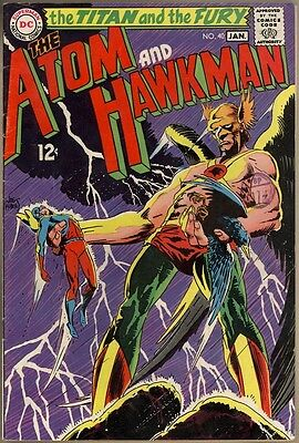 Atom And Hawkman #40 - VG/FN