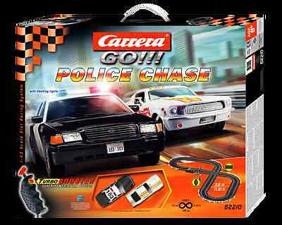 Carrera GO Police Chase 1/43 Slot Car Race Set NEW!