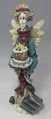 Boyds Folkstone BEATRICE the BIRTHDAY ANGEL # 2825 8E/1065 Time Flies Have Fun