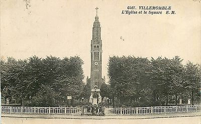 77 Villemomble Eglise Et Square