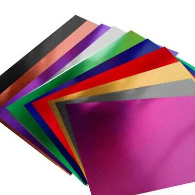 A4 Mirror Card - genuine luxury mirri product, High reflection Choice of colours