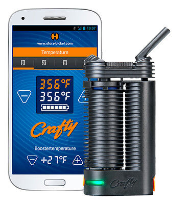 CRAFTY Hot Air Generator - The Portable App  by Creators of Volcano - Hand Held