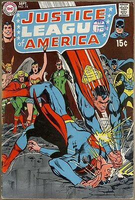 Justice League Of America #74 - VG-