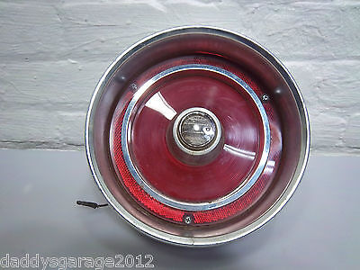 1962 FORD, OEM TAIL LIGHT ASSEMBLY WITH BACK UP
