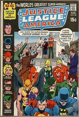 Justice League Of America #88 - VG