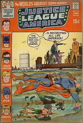 Justice League Of America #90 - G/VG
